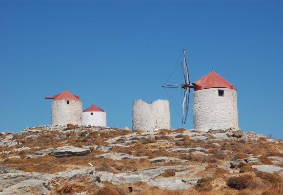 Windmills, Amorgos